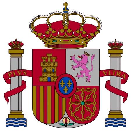 spain map: Stemma della Spagna