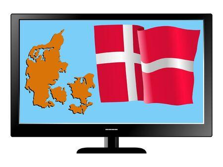 Denmark on TV