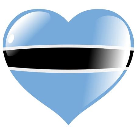 botswana: Botswana in heart