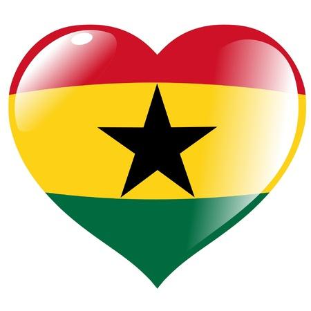 ghana: Ghana dans le c?ur Illustration