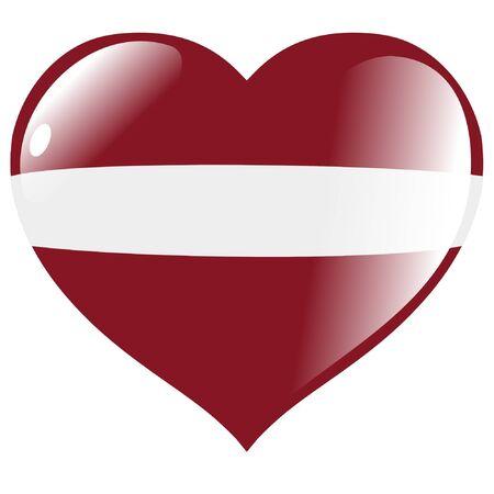 latvia: Latvia in heart