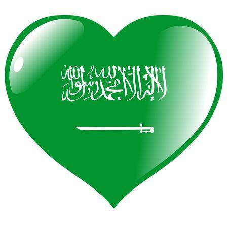Saudi Arabia in heart