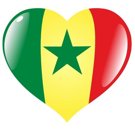 senegal: Senegal in heart