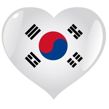 South Korea in heart