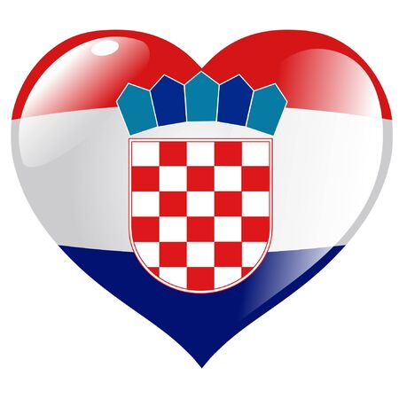 croatia: Croatia in heart