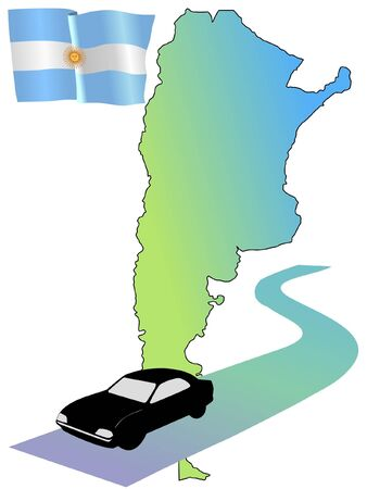 waiving: roads of Argentina