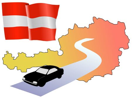 waiving: roads of Austria