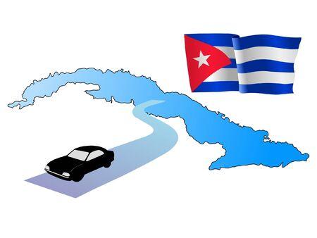 hayride: roads of Cuba