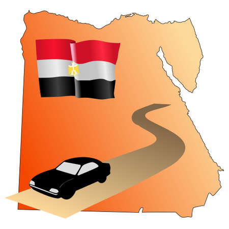 waiving: roads of Egypt