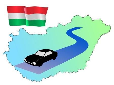 hayride: roads of Hungary