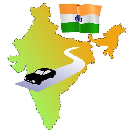 waiving: roads of India
