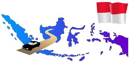 hayride: roads of Indonesia