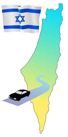 hayride: roads of Israe