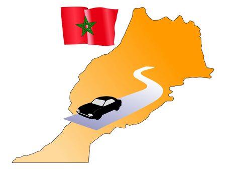 hayride: roads of Morocco