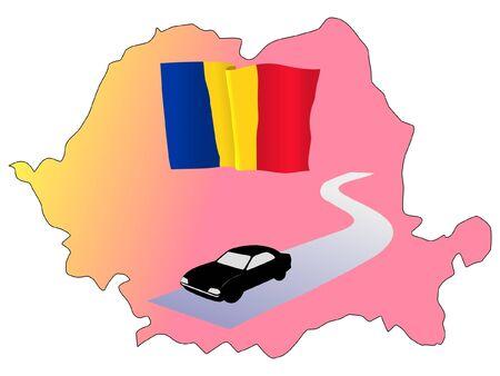 hayride: roads of Romania