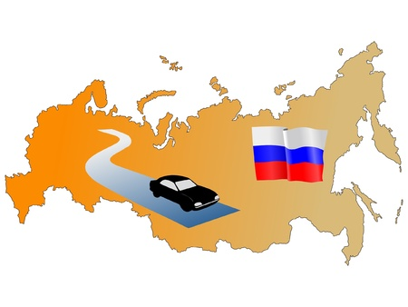 waiving: roads of Russia
