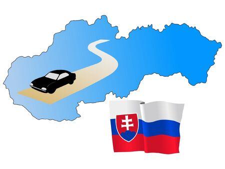 hayride: roads of Slovakia
