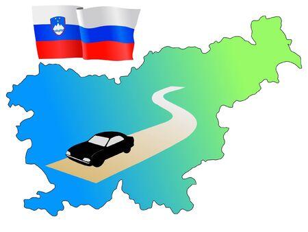 hayride: roads of Slovenia