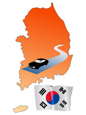 hayride: roads of South Korea