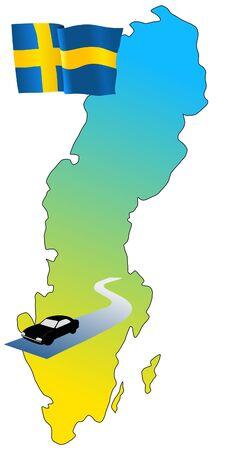 hayride: roads of Sweden