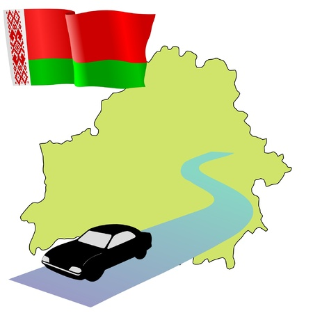 hayride: roads of Belarus