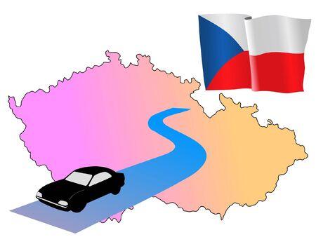 hayride: roads of Czech Republic