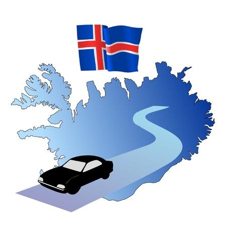 hayride: roads of Iceland
