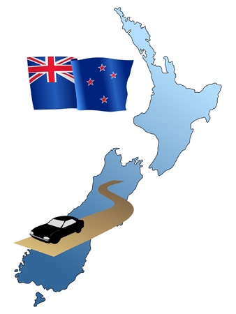 waiving: roads of New Zealand