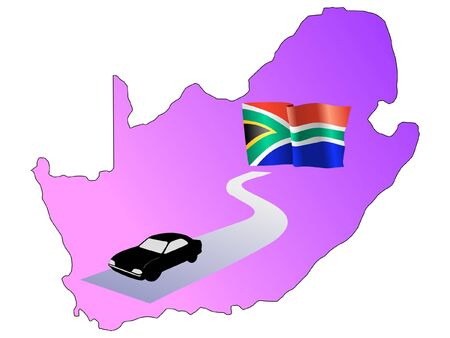 waiving: roads of South Africa