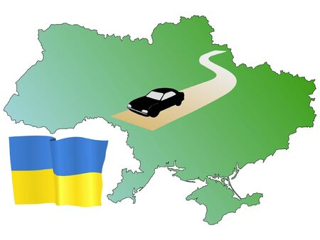 hayride: roads of Ukraine