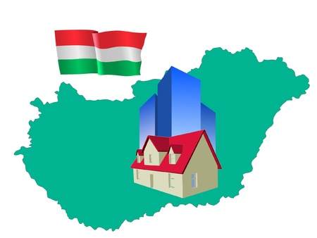 hotel in Hungary Stock Vector - 11832823