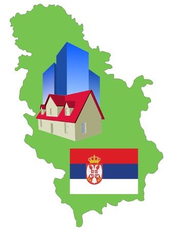 serbien: Hotel in Serbien