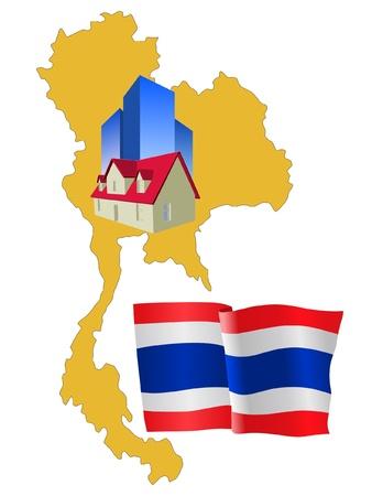 hotel in Thailand Stock Vector - 11832819