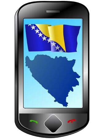 Connection with Bosnia and Herzegovina Vector