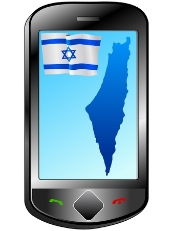 Connection with Israel Stock Vector - 11833068
