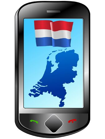 Connection with Netherlands Stock Vector - 11833115