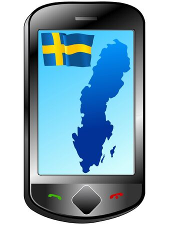 Connection with Sweden Vector