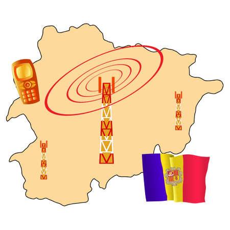 andorra: mobile connection of Andorra