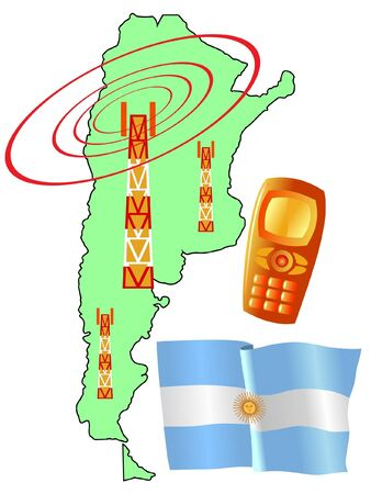 roaming: mobile connection of Argentina