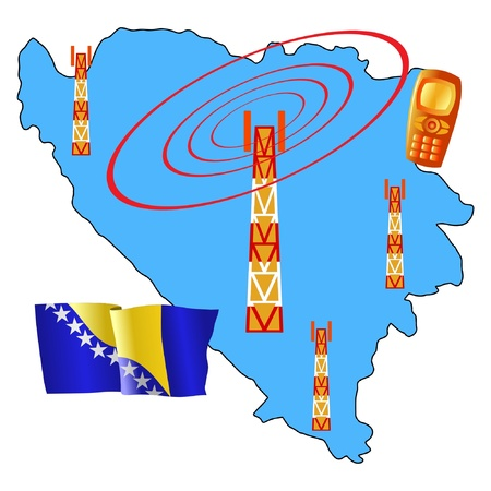 roaming: mobile connection of Bosnia and Herzegovina