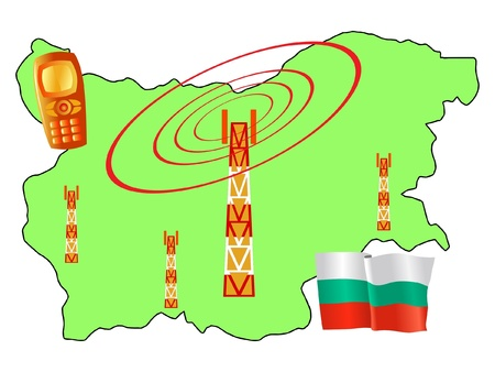 roaming: mobile connection of Bulgaria
