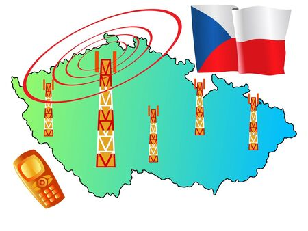roaming: mobile connection of Czech Republic