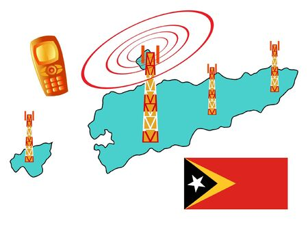 timor: mobile connection of East Timor