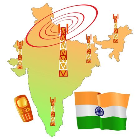 roaming: mobile connection of India