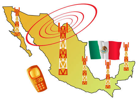 roaming: mobile connection of Mexico