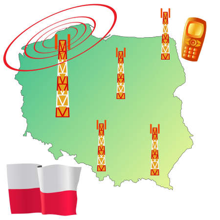 roaming: mobile connection of Poland
