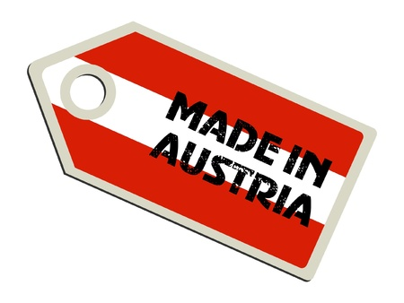 made in: Made in Austria Stock Illustratie
