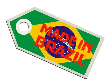 Made in Brazil Vector