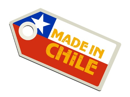 bandera de chile: Made in Chile