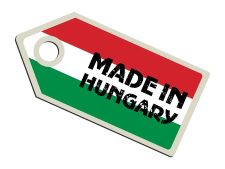 Made in Hungary Stock Vector - 11899763